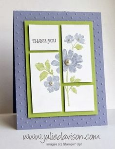 thank you card by Julie Davison