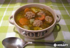 Ciorba de perisoare Goulash, Pot Roast, Stew, Soup Recipes, Meat, Cooking, Ethnic Recipes, Food, Soups