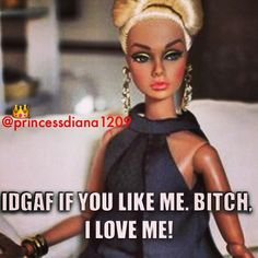 Haha love these barbie memes Barbie Funny, Bad Barbie, Barbie Humor, Bitch Quotes, Funny Quotes, Bitchyness Quotes, Badass Quotes, Funny Humor, Girl Quotes