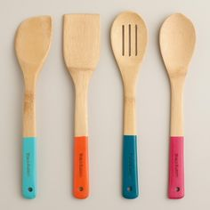 Bamboo Dipped Serving Utensils