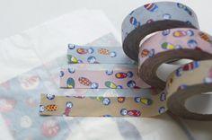 夜長堂印 こけしちゃん マスキングテープの商品写真