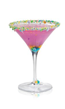 Cabaret Cake (2 parts Pinnacle Strawberry Shortcake Vodka 1 part Pinnacle Cake Vodka 1 part DeKuyper Pucker Berry Fusion Liqueur Splash Fresh Lime Juice)