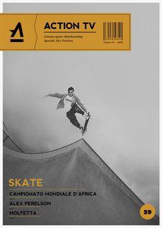 Action Tv magazine by Elia Pirazzo | Graphic Design | Pinterest