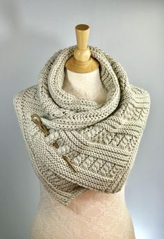 Highlands Scarf, Shawl, Cowl, Wrap, Shoulder Warmer Made to ORDER by KnitPlayLove on Etsy