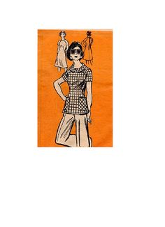 60s Vintage Mail Order Sewing Pattern Aline by AdeleBeeAnnPatterns, $8.50