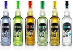 I'm learning all about Oddka Vodka  at @Influenster!