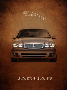 Jaguar X Typ Print von Mark Rogan - Jaguar X, Jaguar S Type, Jaguar Cars, Bentley Auto, Jaguar Daimler, Car Hd, Jaguar Land Rover, Motorcycle Design, Hot Cars