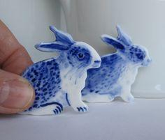 Ceramic Rabits on Dawanda.com