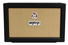 """Orange PPC212-C Guitar Speaker Cabinet (120 Watts, 2x12""""): With this cab, you get the unique tone and rugged durability that is unmistakably Orange. Loaded with two Celestion Vintage 30 speakers, the PPC212-C rocks."""