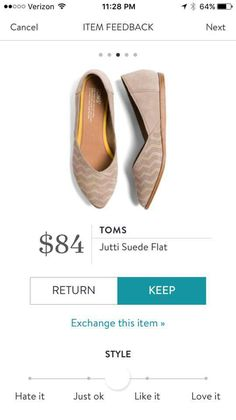 Curious to try these flats-maybe in a pattern that would go with my predominantly black wardrobe
