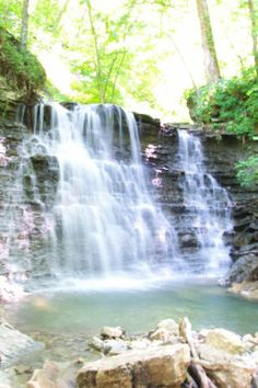 Clifty Falls State Park. See you when the water starts falling! I climbed this water fall with some friends when I wasn 22 yrs old.