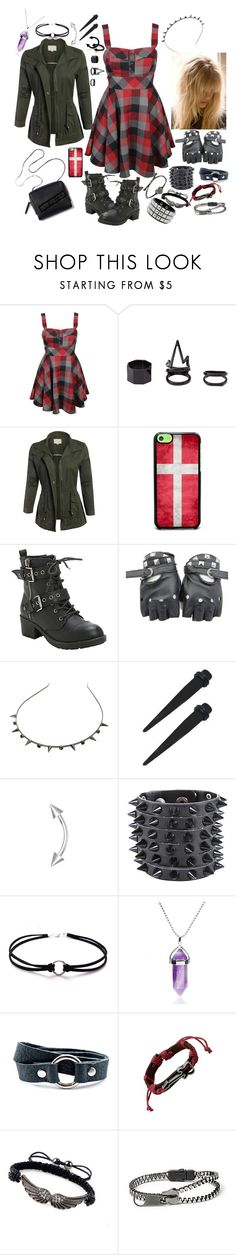"""""""Prom   New Politics (band) Inspired"""" by danm-it-lachlan ❤ liked on Polyvore featuring Forever 21, Charlotte Russe, 3.1 Phillip Lim, Henri Lou and claire's"""