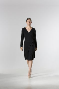 The @ clementineshale Jersey Wrap Dress  http://spencerclothing.com