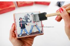 PHOTO BLOCKS - Valentine's day - DIY Tutorial - Great gift idea!