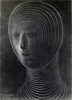 Pavel Tchelitchew, Head, 1950