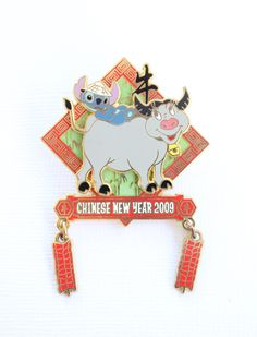 Stitch Chinese New Year