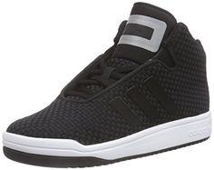 buy online d6be8 5d0f3 Scarpe da Basket - Unisex - adidas Veritas Mid Weave - Adulto - Nero - 36