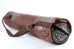 taška na jogu / yoga mat bag Yoga Mat Bag, Belt, Bracelets, Leather, Handmade, Accessories, Jewelry, Belts, Hand Made