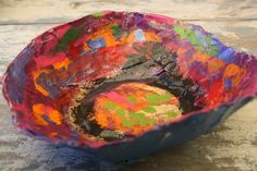 paper mache bowls - happy hooligans - gifts kids can make and givehappy hooligans