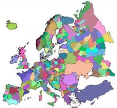 map of Europe's bioregions Europe, Urban, Projects, Image, Spaces, Log Projects, Blue Prints