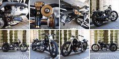 Harley-Davidson Knucklehead by Hot-Dock Custom Cycles