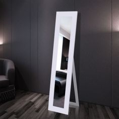 Free Standing Mirror Full Length White    Enjoy this Budget Opportunity. At Luxury Home Brands WE always Find Great Stuff for you :)