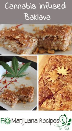 Cannabis Infused Baklava recipe is perfectly blends the cannabis butter with the sweet and flakey crust.