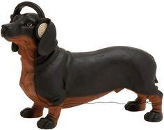 "UMA Inc Ps Dog Headphone 13""W, 9""H"