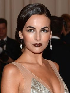 Fall Makeup Trends for 2012: oxblood lips   #CamilleBelle