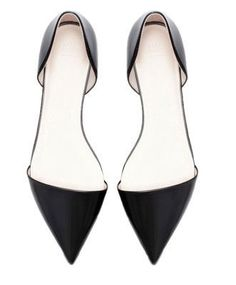 Pointed Flat Shoes. #shoelover