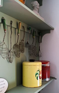 Vintage kitchen tools by Ann Foley via Flickr.