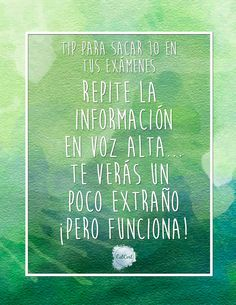 #Tips  #Sacar10  #Examenes  #CatCort  #Youtube