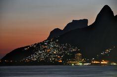 """* Rio de Janeiro * Brasil. Favela do """"Vidigal""""."""