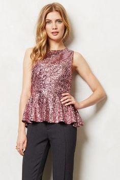 Illuminee Peplum Top