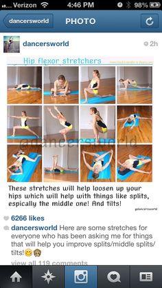 side lying quad hip flexor stretch  hip flexor stetches