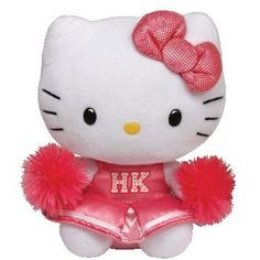 TY Beanies 10 Plush Buddy Hello Kitty Cheerleader by Ty >>> Find out more about the great product at the image link.Note:It is affiliate link to Amazon.