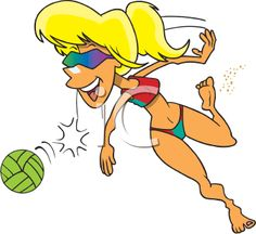 The Clip Art Guide Blog: Beach Volleyball Photography Tips