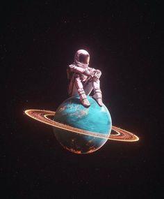 Whats Wallpaper, Trippy Wallpaper, Planets Wallpaper, Wallpaper Space, Galaxy Wallpaper, Wallpaper Backgrounds, Astronaut Wallpaper, Space Artwork, Space Photos