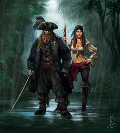 couple pirates