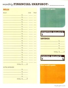 pdf and excel daily expense tracker printable organization lists pinterest facts free. Black Bedroom Furniture Sets. Home Design Ideas