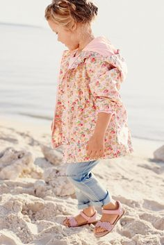 Buy Pink Ditsy Cagoule online today at Next: United States of America Little Girl Fashion, My Little Girl, Kids Fashion, Summer Tops, Summer Girls, Toddler Outfits, Kids Outfits, Childrens Coats