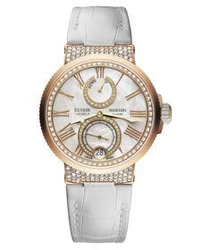 Nouvelle Ulysse Nardin Lady Marine Chronometer.