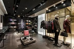 Porsche Design store at Breuninger by Plajer & Franz Studio, Stuttgart fashion