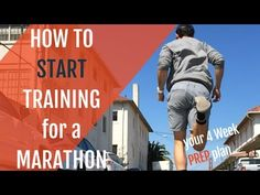 How to Start Training for a Marathon - Your 4 Week PREP Plan
