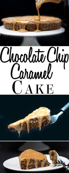 For the ultimate indulgence look no further than this recipe for Chocolate Chip Caramel Cake from Erren's Kitchen