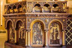 Inside Metropolitan Cathedral  Athens, Greece