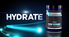 Hydrate your body more effectively than water for all-out performance by drinking Hydrate during workouts. Typical sports drinks have too much sugar and artificial ingredients that can actually dehydrate you. And water alone doesn't effectively hydrate or replace what you lose through sweat during workouts. Hydrate is specially formulated to give you an optimal balance of carbs, electrolytes, & water, that quickly replace what's lost &to help improve your endurance, so you can work out…