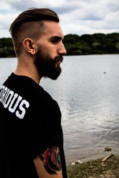 #beard #casual #man