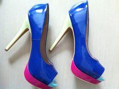 scarpe con tacco alto perfette con abitini o con un jeans ;)
