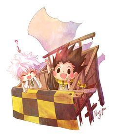 Hunter x Hunter - Gon and Killua #Harry_Potter